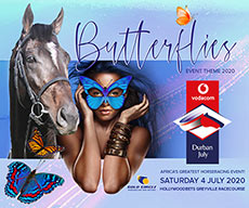 2020 Durban July theme is Butterflies