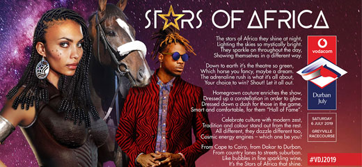 2019 July Theme, Stars of Africa