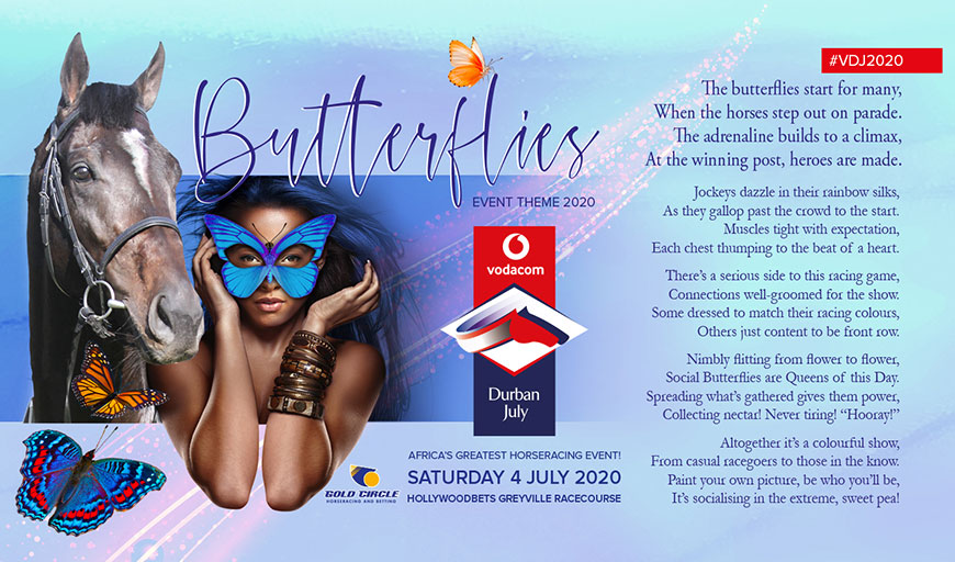2020 Vodacom Durban July Theme
