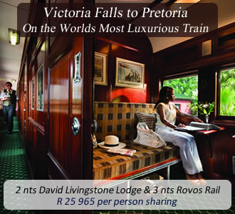 Rovos Rail Victoria Falls Package